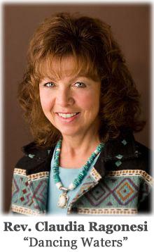 """Rev. Claudia Ragonesi, """"Dancing Waters"""""""